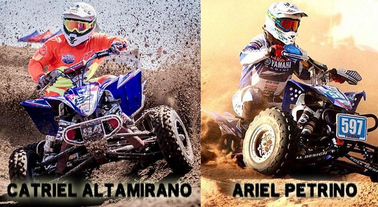Catriel Altamirano y Ariel Petrino